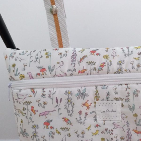 Bolsa Mini Liberty Animalitos Pastel