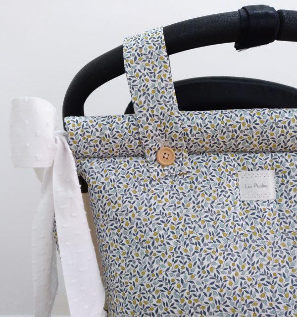Bolsa Panera Liberty Flores Aqua