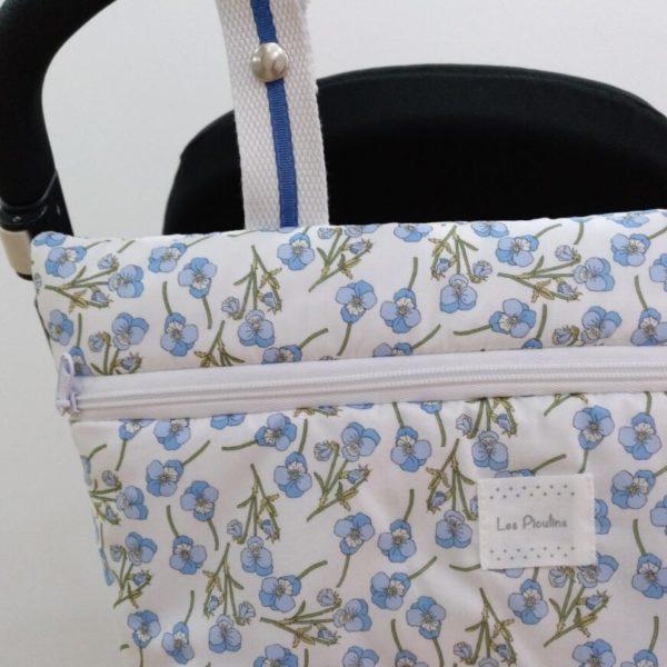 Bolsa Mini Ramilletes Azul