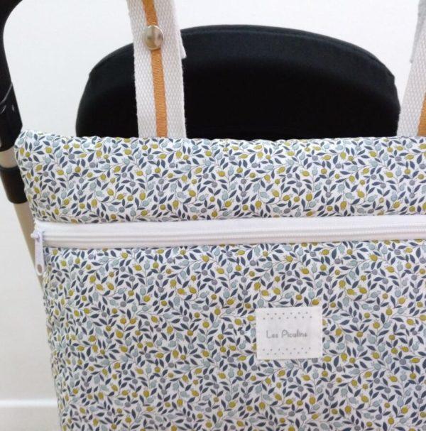Bolsa Mini Liberty Flores Aqua
