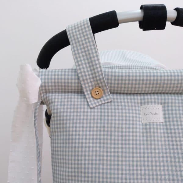 Vichy Aqua Bread Bag