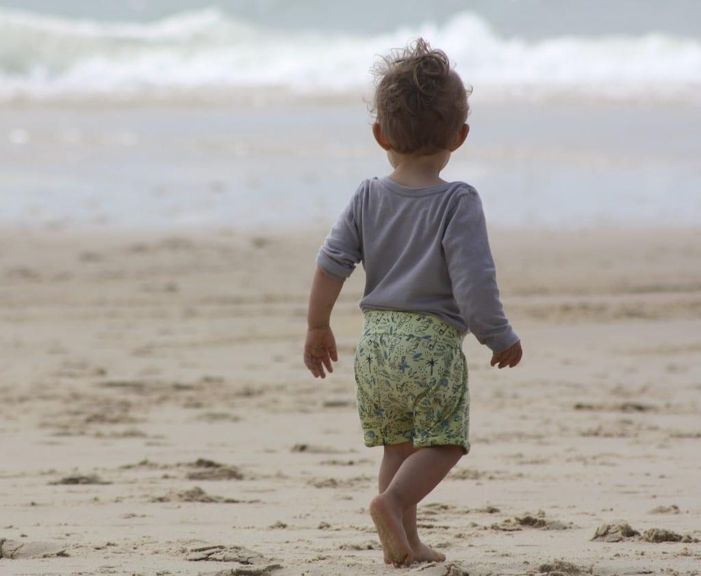 Playa y bebés